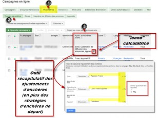calculatrice adwords