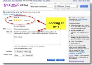 Annuaire local Yahoo!