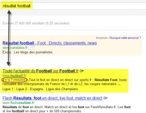 contenu frais chez google