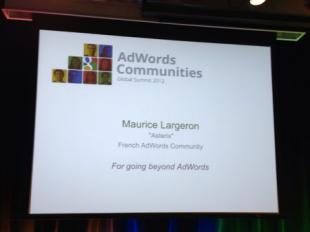 Adwords award