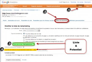 Liste de remarketing