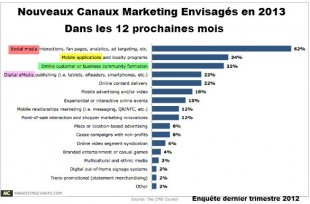 canaux marketing 2013