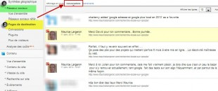 Mesure des conversations dans Google +