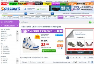 Remarketing Dynamique pour G. Shopping