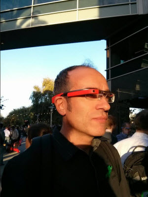 J'ai essayé les google Glasses !
