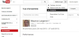 Analytics de Youtube