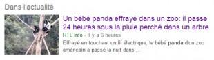 Résultat Panda ce 26 décembre ! :)