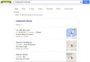 seo local dans google plus (logué)