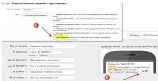 Campagne Appel Mobile