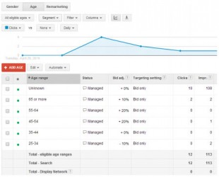 Reporting adwords Dfsa