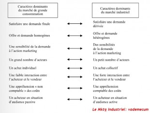 Problematique du marketiing industriel
