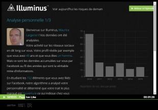 Profilage Facebook vu par Illuminus