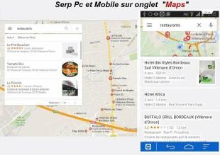 Recherche Maps sur Pc et Mobile