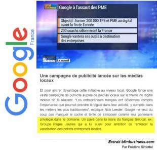 Google et les TPE