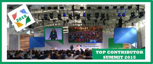 Retour sur le Top Contributor Summit 2015