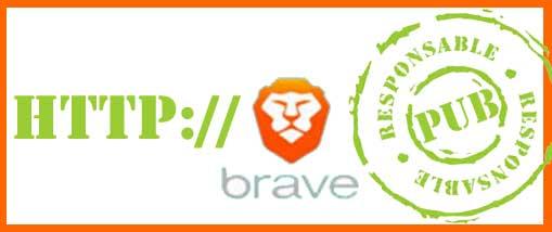 Brave :  navigateur web médiateur publicitaire