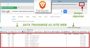 web traffic from brave chromium