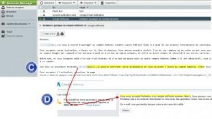 Acceptation invitation adwords par annonceur