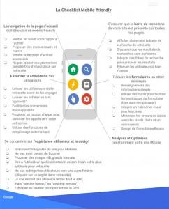 Critères à suivre pour être mobile friendly