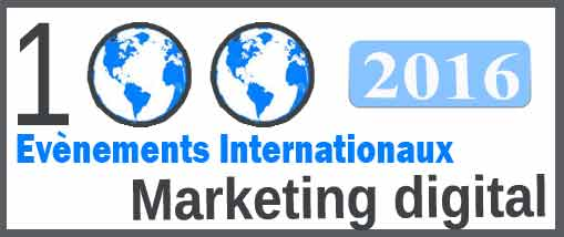 Top 100 mondial manifestations Marketing digital