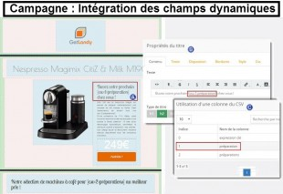 Campagne : Création dynamique
