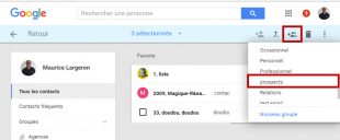 Creation-de-liste-de-contacts dans gmail basique