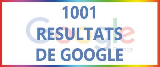 Quatre-vingt  résultats  de Google  passés en revue