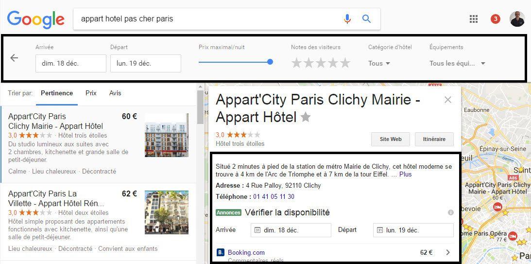 Paris Appart Hotel Pas Cher