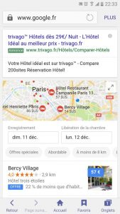 Lien comparateur d'hotels