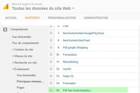 Rapport Evenements-dans-google-analytics