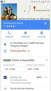 Parc aventura sur mobile
