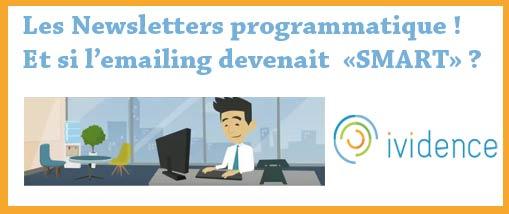 La publicité programmatique intégrée dans les newsletters, un marché prometteur.