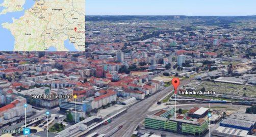 Locaux LinkedIn a Graz