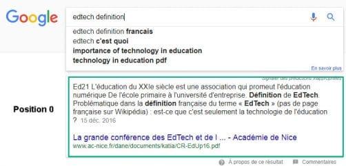 Qu'est ce qu'une Edtech ?