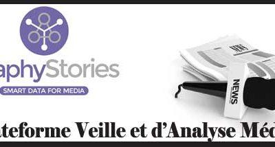 Graphystories la plateforme de Veille et d'Analyse médias
