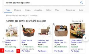 comparateur de prix google shopping ouvert concurrence