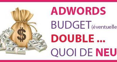 Doublement du Budget AdWords Bilan après 6 mois