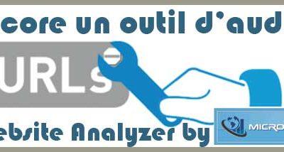 Web Analyzer pour mieux voir ses urls :)