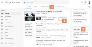 Nouveau google news