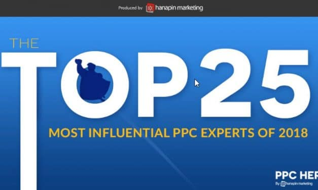 Top 25 Gourous du Sea selon PPC Hero