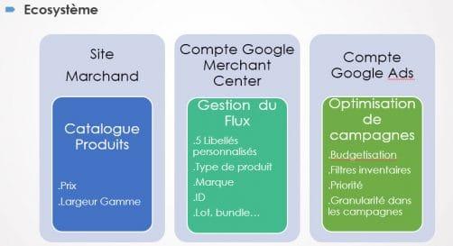 Ecosysteme google shopping