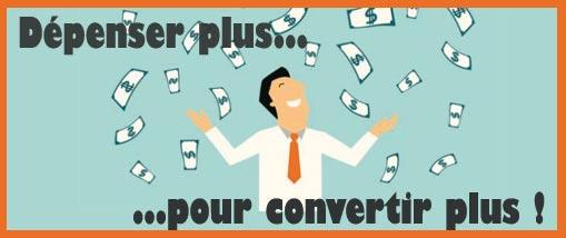 15 bonnes raisons pour dépenser tout son budget de campagnes google ads.