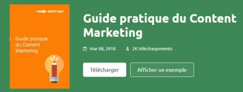 guide du content marketing