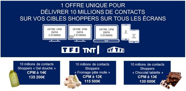 Offre de TF1 publicité