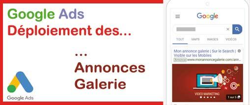 Annonces Galerie De Google Ads