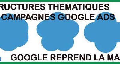 Optimiser un compte Google Ads par des campagnes thématiques