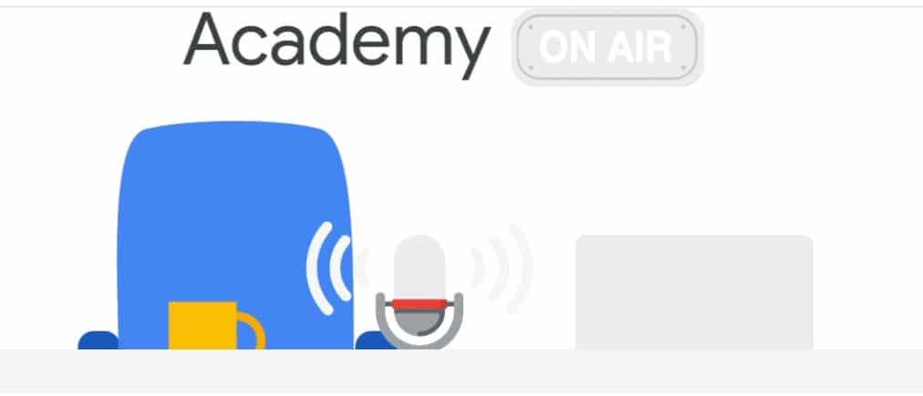 Programme academy on air google partner
