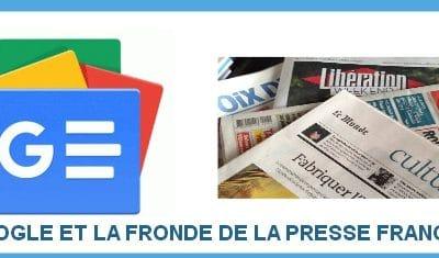 Google , droit voisin et fronde de la Presse Française