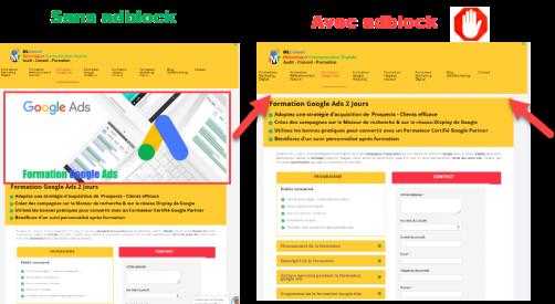 Passer la barrière des Adblocks : Nommage des fichiers visuels de landing pages