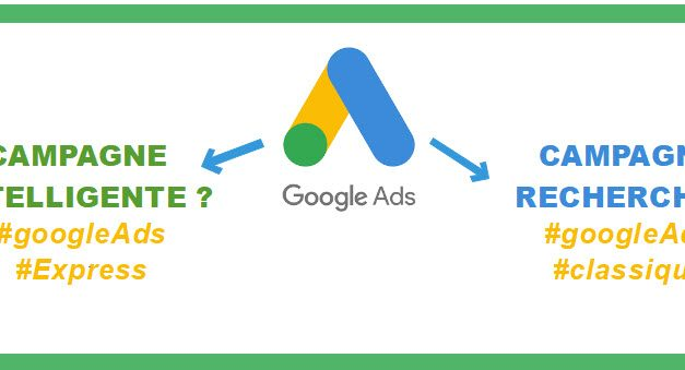 Google ads express (mode intelligent) ou Google ads classique (mode expert ) ?